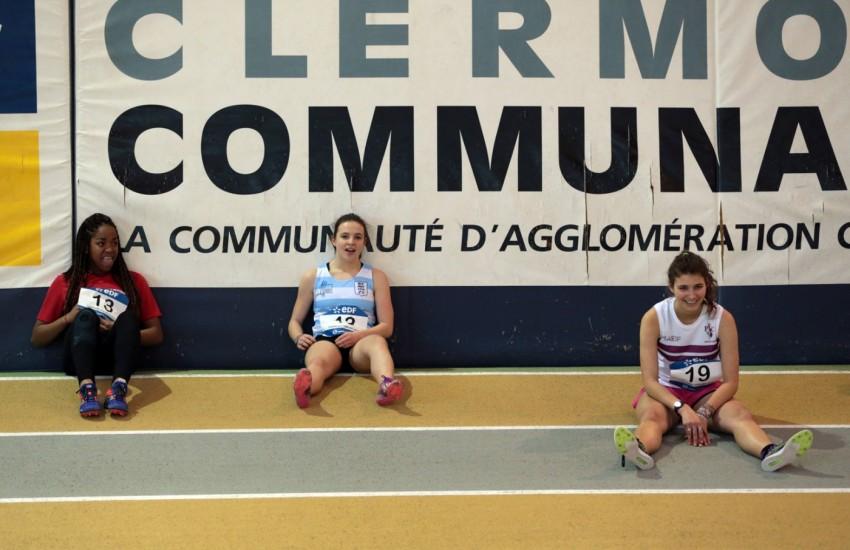 France Indoor à Clermont Aubière