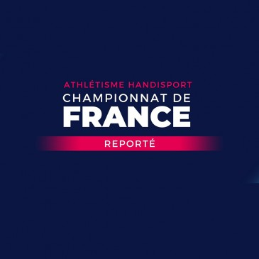 Championnats de France Indoor reportés au 3 avril 2021