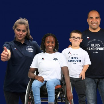 Devenez supporter officiel des Bleus Handisport !